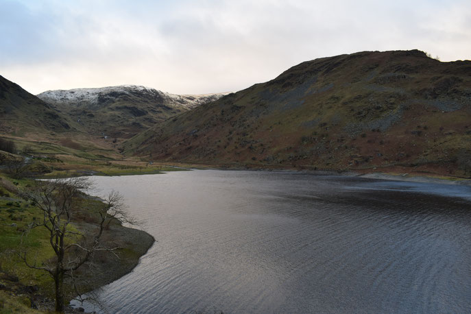 Haweswater, Lake District, Cumbria, hiking in England