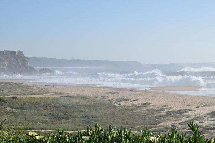 huge waves, surf, Praia do Norte, Nazaré