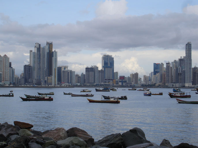 Panama City from Casco Viejo - Shelly McCullough www.sellallyourstuff.com