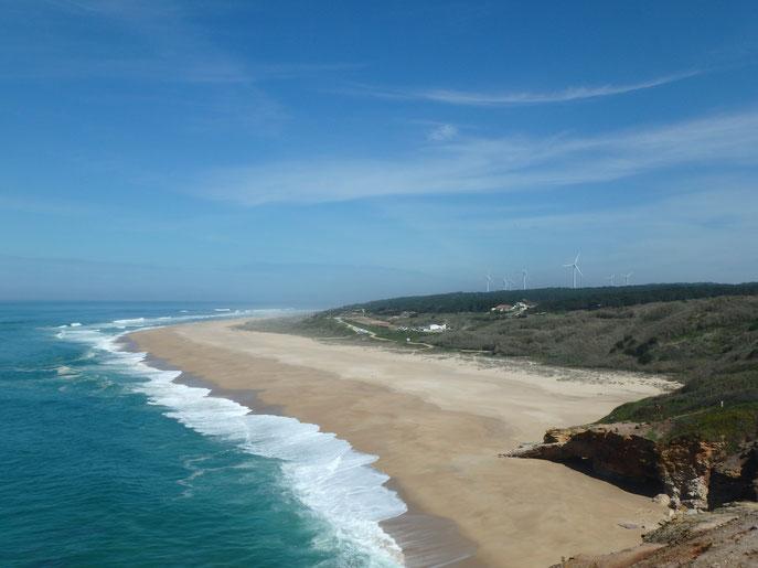 Praia do Norte – Nazaré Portugal van life