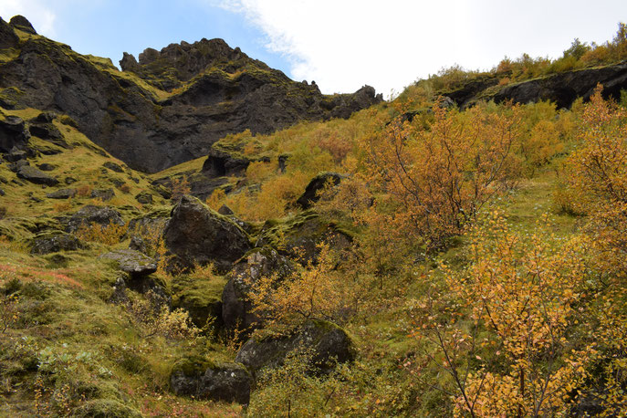 Tindfjöll circle, Thorsmork September, hiking