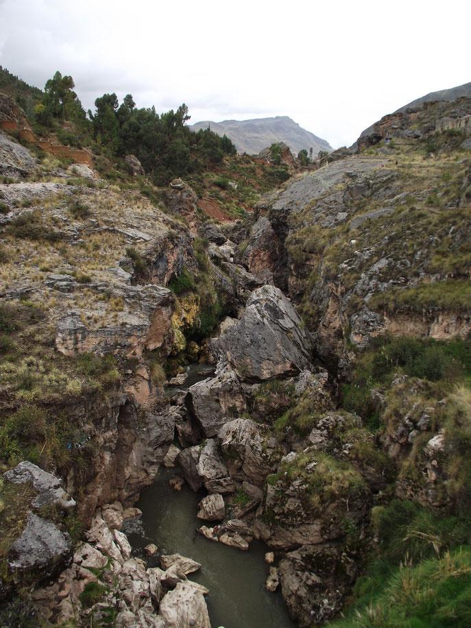 Huancavelica river