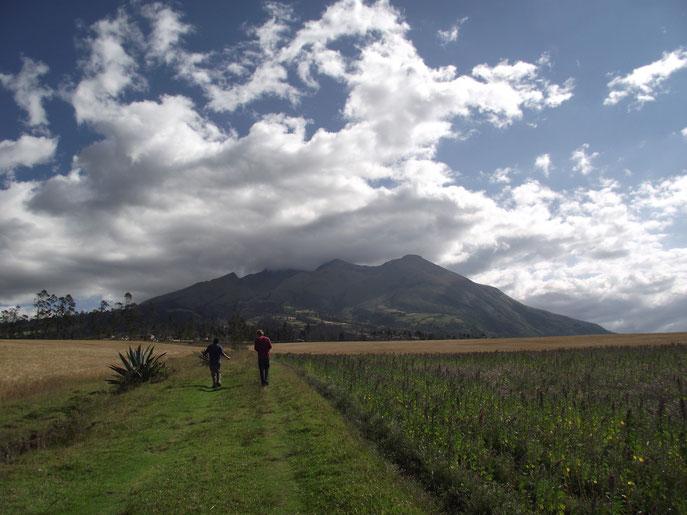 volcano Imbabura, La Espiranza, Ecuador