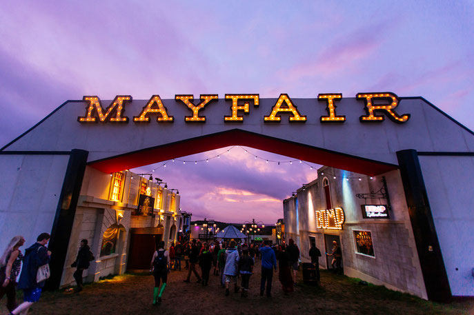 2015: Mayfair, Boomtown festival, England, UK