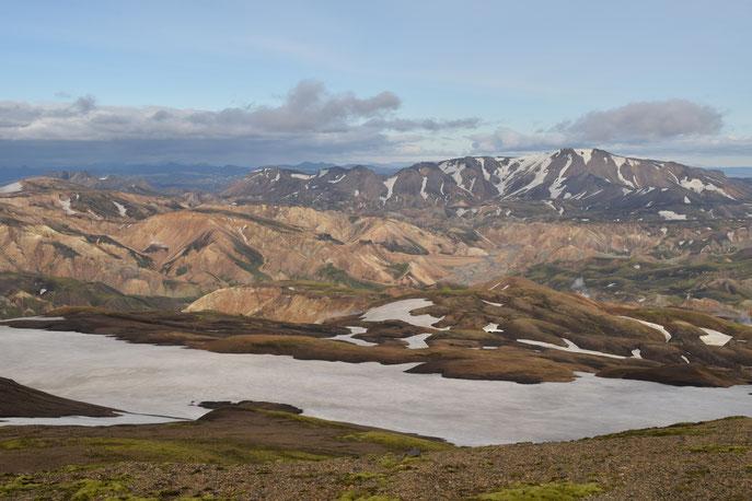 Reykjafjöll, Hrafntinnusker, Fjallabak