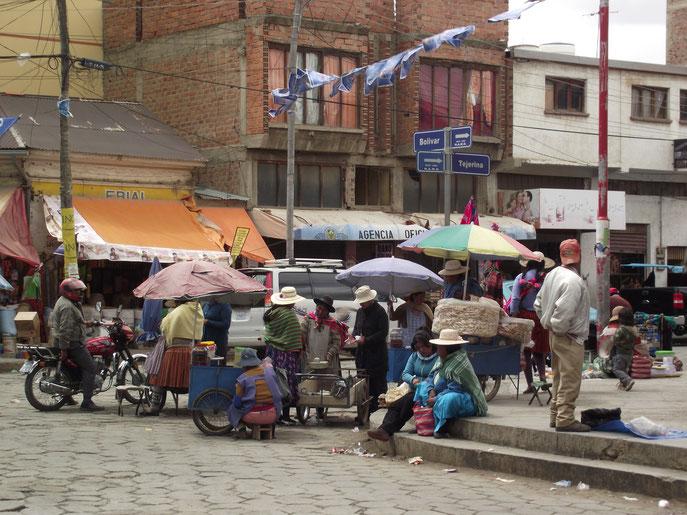 Oruro, Bolivia street food