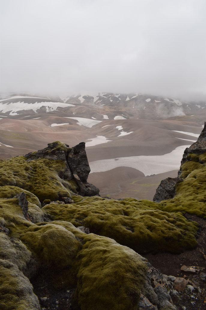 Hrafntinnusker summit, Fjallabak