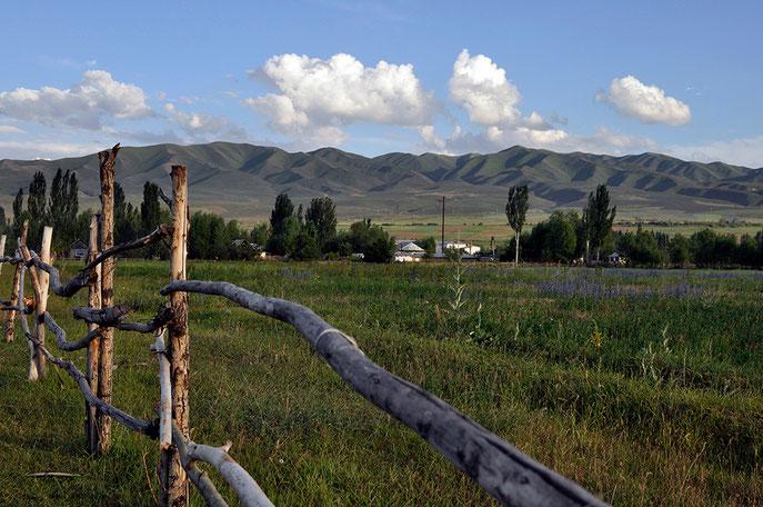 Kyrgyzstan landscape mountains