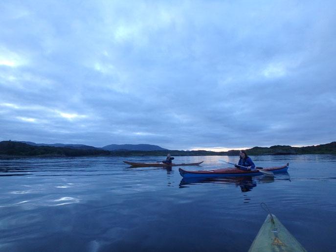 kayaking, Isle of Islay, Scotland