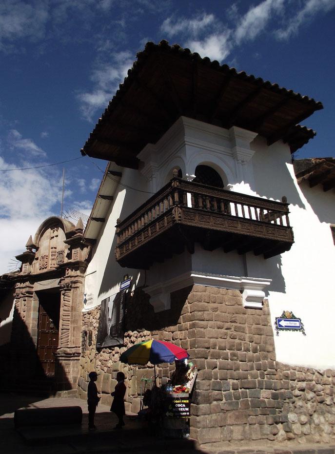 Cusco Peru street