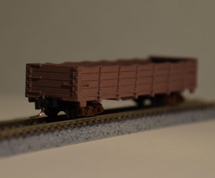 Nn3 C&S Steel Frame Coal Gondola in old and used shape