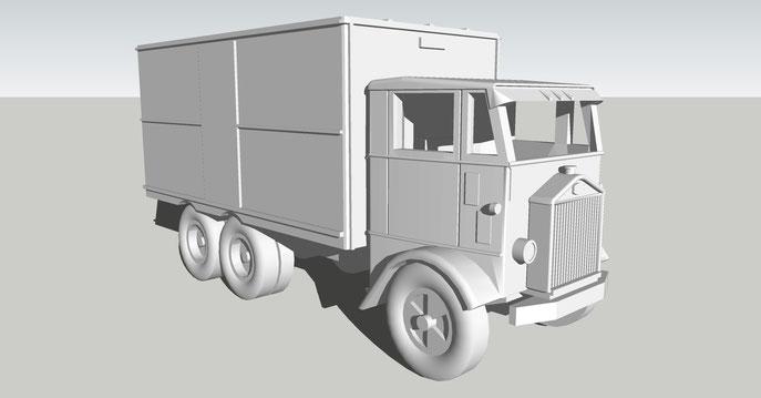 1936 Nelson LeMoon COE Truck
