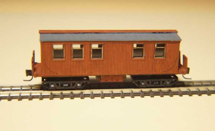 Nn3 DSP&PRR Outfit Car 0515 (laser cut wood)