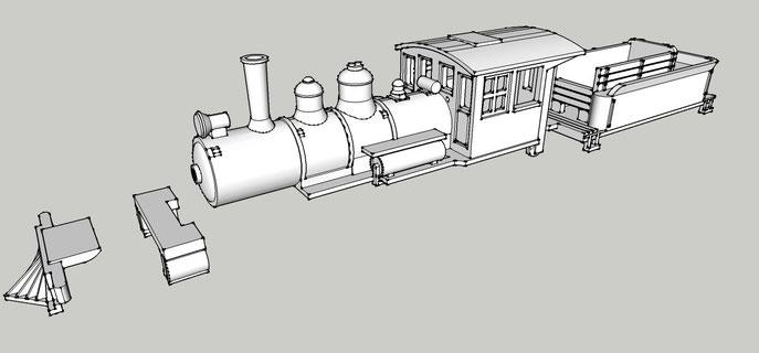 Nn3 KIT 2-6-0 Engine für Märklin BR24