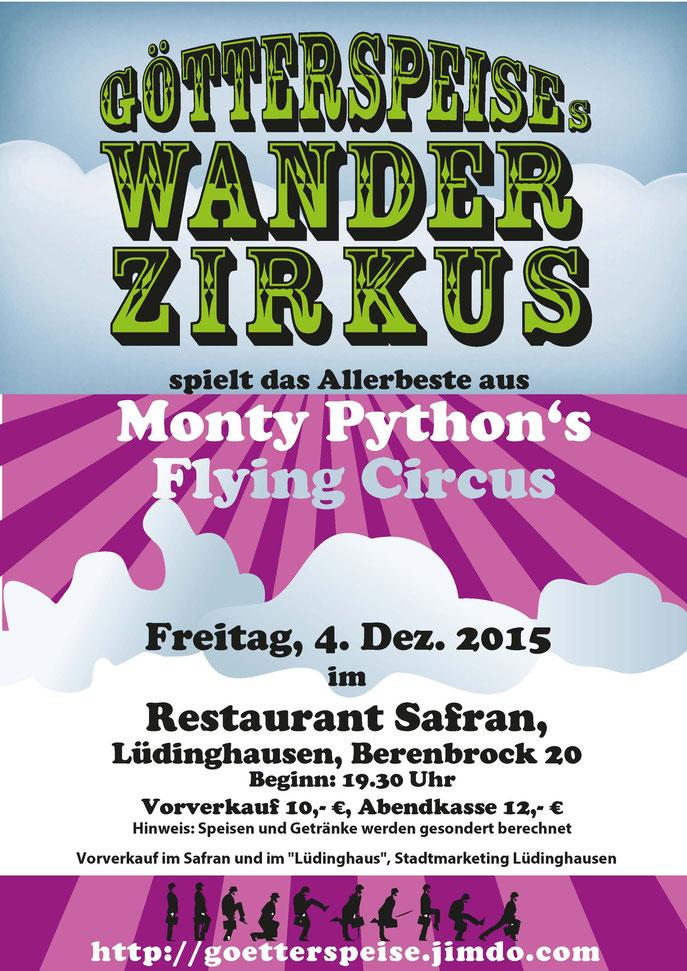 Plakat Bennohaus 29.11.2014