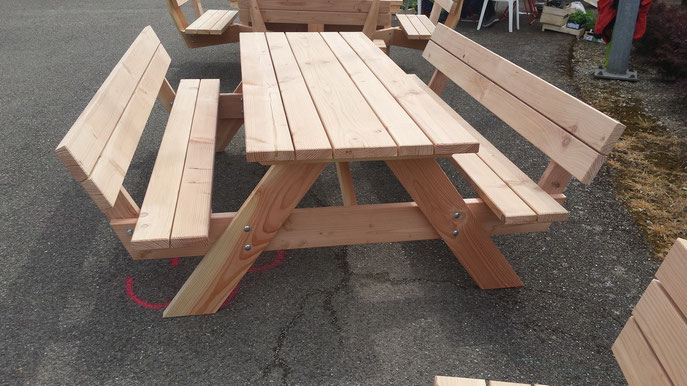 Table Picnic Confort - table de jardin pas cher