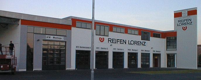 REIFEN LORENZ LEIPZIG EINFAHRT