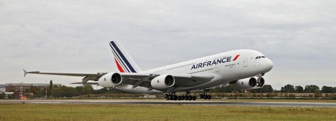 Décollage du 1er Aibus A380