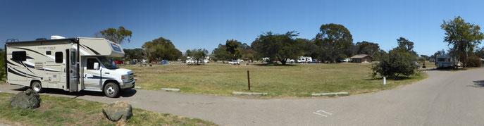 Le camping de Pismo Beach