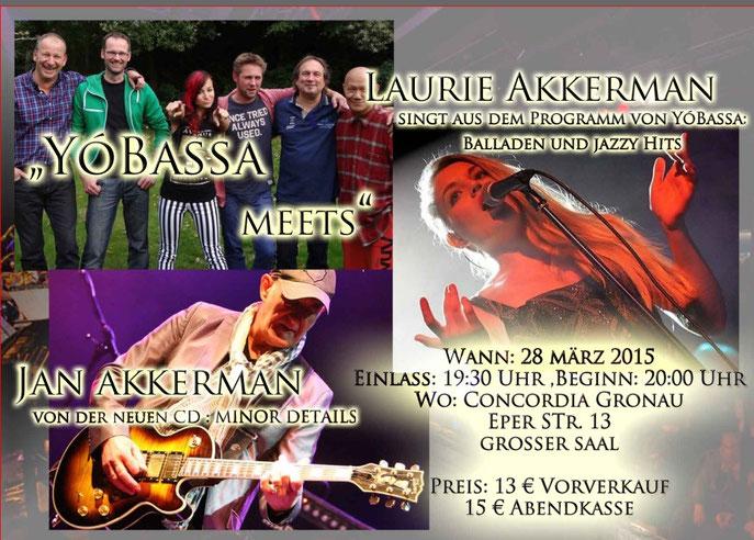 Tickets im VV für  13.- €,  Abendkasse  15.-€