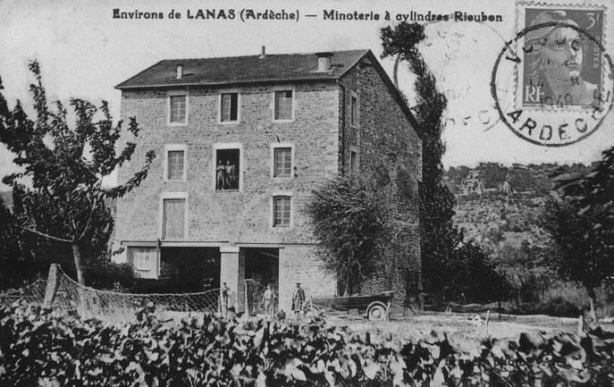 Le moulin en 1948