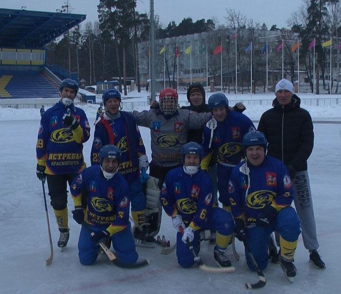 Красногорские Ястребы четвёртые в первенстве района по мини-хоккею сезона 16-17.