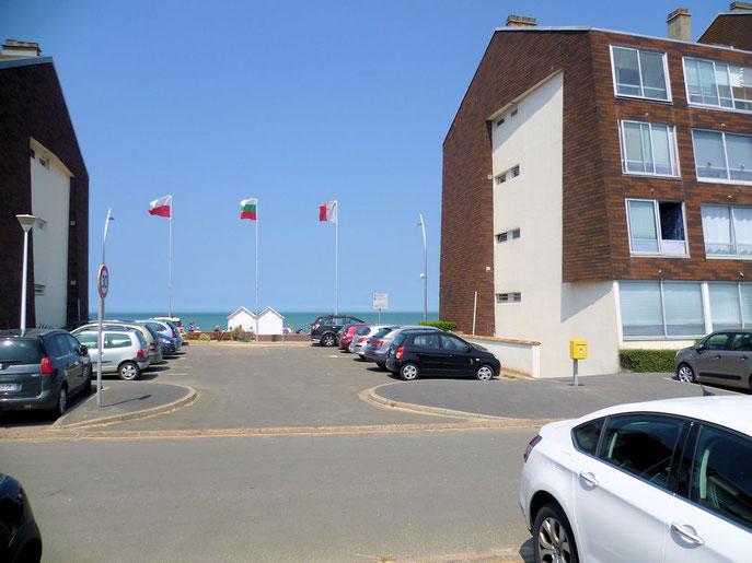 vue plage Courseulles