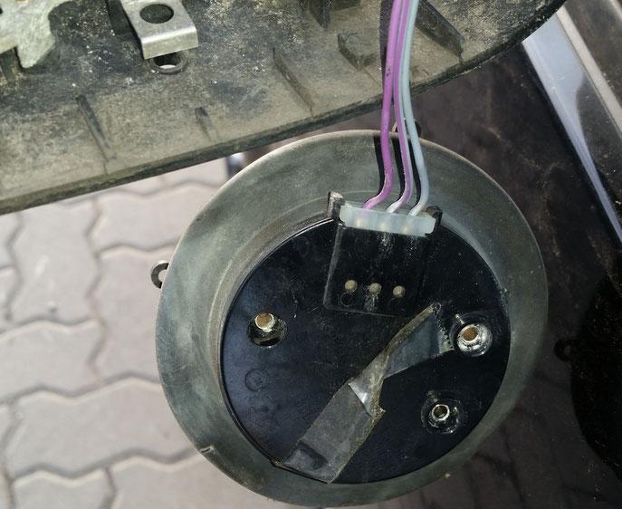 Motorträger gelöst