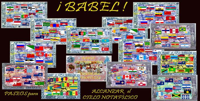 B A B E L  ¡paseos por el billetario mundial para alcanzar el cielo notafílico!
