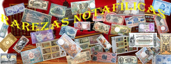 billetes del mundo raros-raros