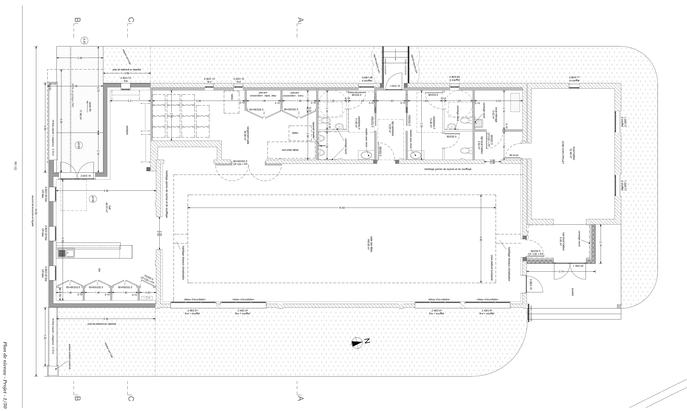 Plan de niveau - janvier 2020 - Nicolas Genaud Architecte DPLG