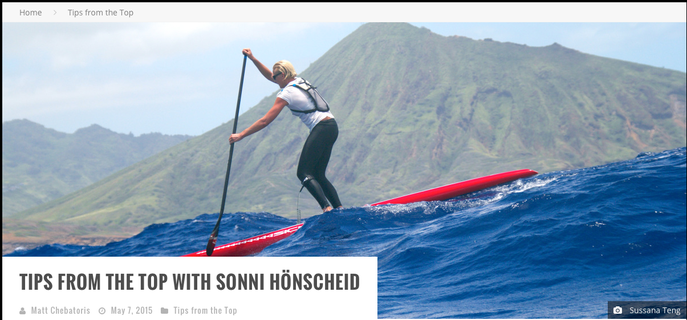 http://supexaminer.com/2015/05/tips-from-the-top-with-sonni-honscheid/