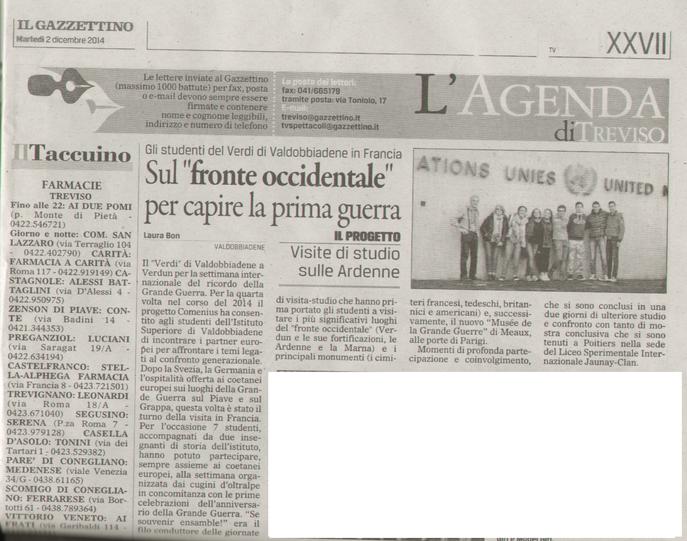 Il Gazzettino 12/02/2014