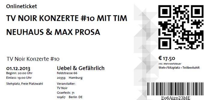 Nr.116 - 01.12.2013 - TV Noir #10 - Uebel & Gefährlich, Hamburg