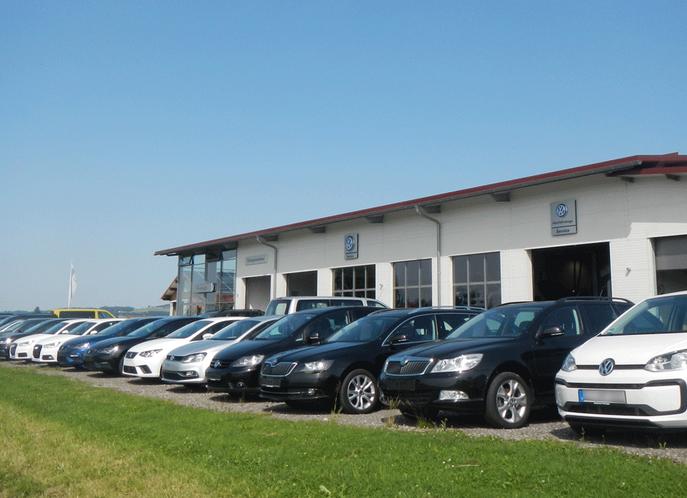 Neubau der VW Service Werkstatt Feinaigle in Röthenbach im Allgäu