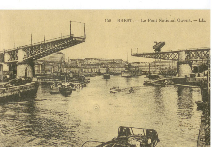 Pont National ouvert