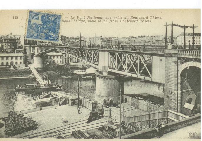 Ouverture du pont Gueydon