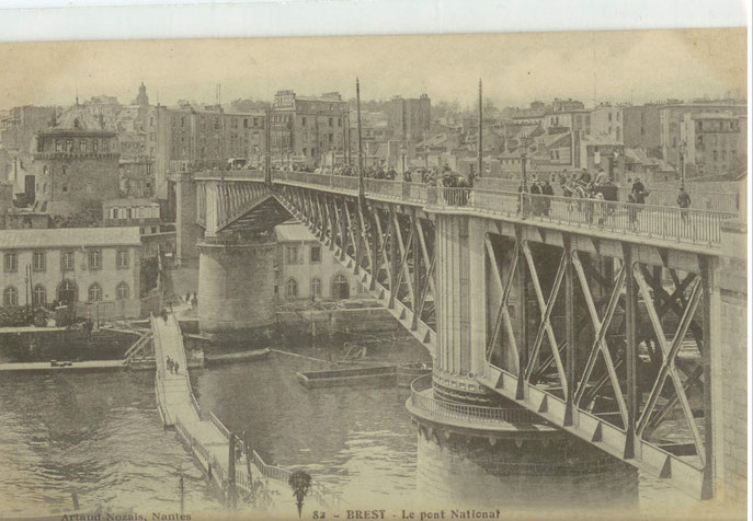 Vue générale , Recouvrance vu du Pont