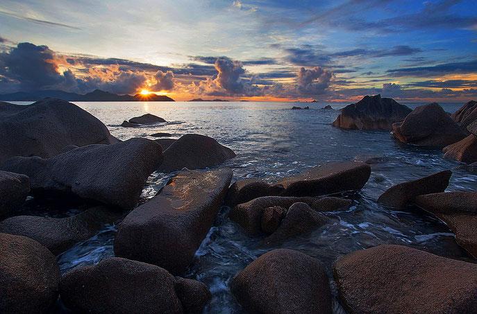 """Una foto che """"funziona"""". Isola di La Digue, Seychelles"""