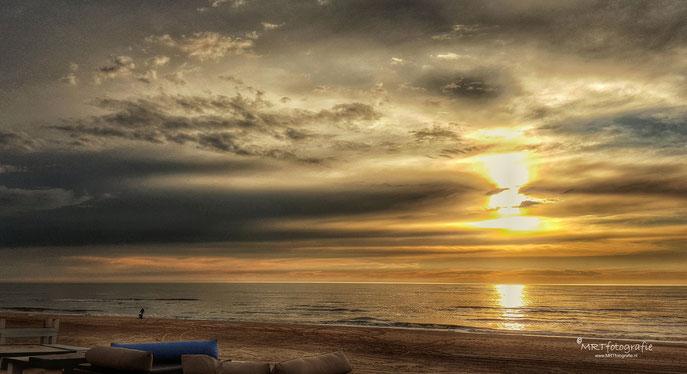 Zonsondergang Katwijk