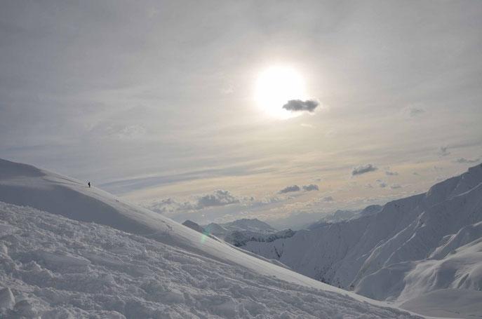 Ski-Panorama im Ski-Gebiet Fiss-Ladis-Serfaus