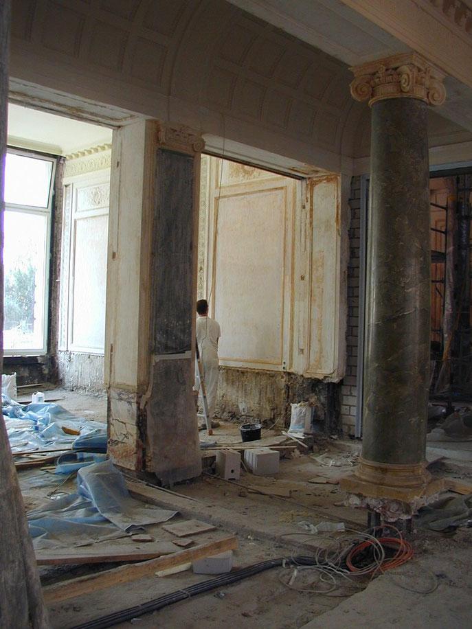 Zustand vor der Restaurierung