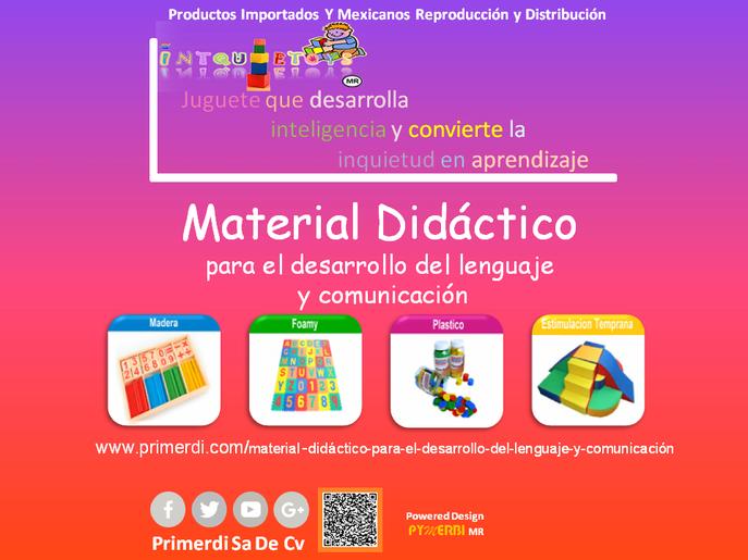 material didactico para el desarrollo del lenguaje y comunicacion