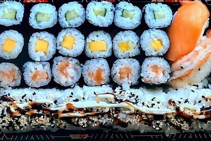 Sushi Box 1 zum Mitnehmen