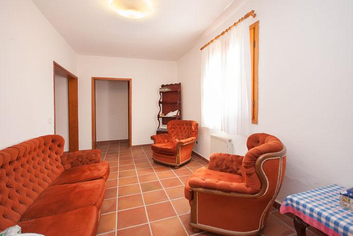 Wohnzimmer - Apartment untere Wohnebene