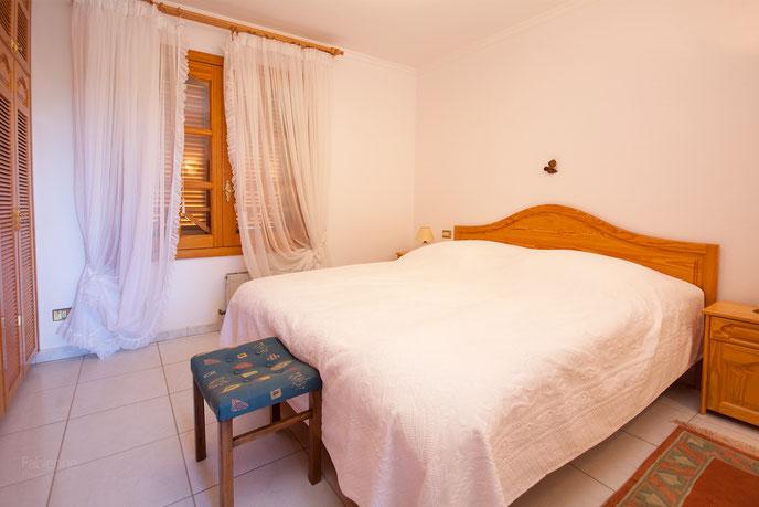 Schlafzimmer vom  Gäste-Apartment
