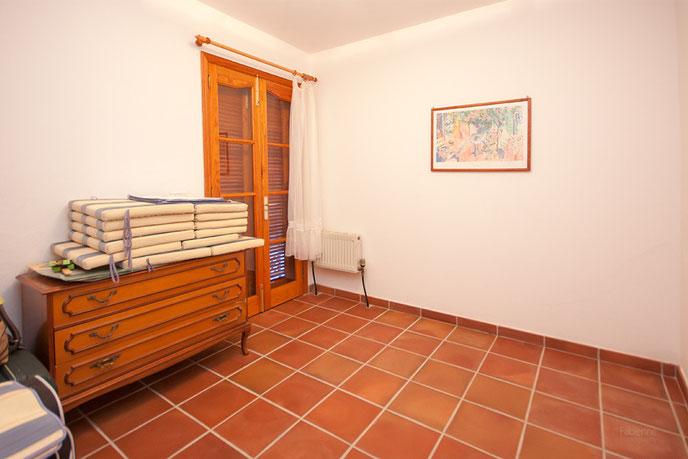Eines der Zimmer in der Wohnung