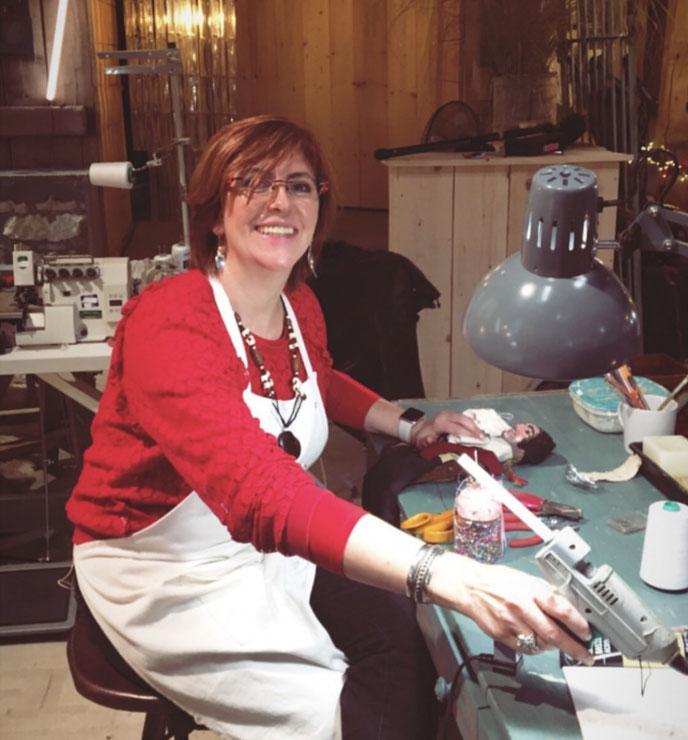 Fabienne participe à une Emission fabuleuse de télévision hebdomadaire sur M6, dès mi-octobre 2019. À l'atelier, on restaure les objets affectifs...