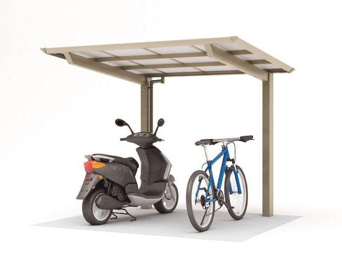 Fahrrad-Überdachung