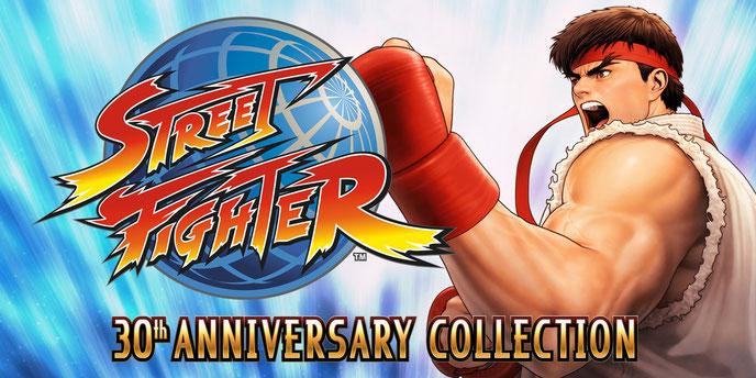 Street Fighter, Street Fighter 2, Alpha, 3, 30th Anniversary, Ryu, Ken, Blanka, Dhalsim, Shoryuken, Hadouken, Beat'em'up, Capcom, Chun-Li, M. Bison, Guile, Turbo